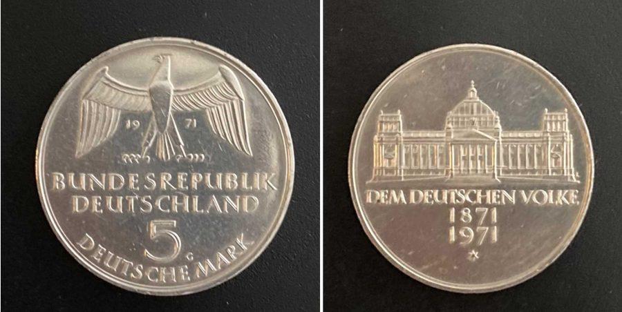 150 Jahre ReichsgründungKein Kranz nirgends
