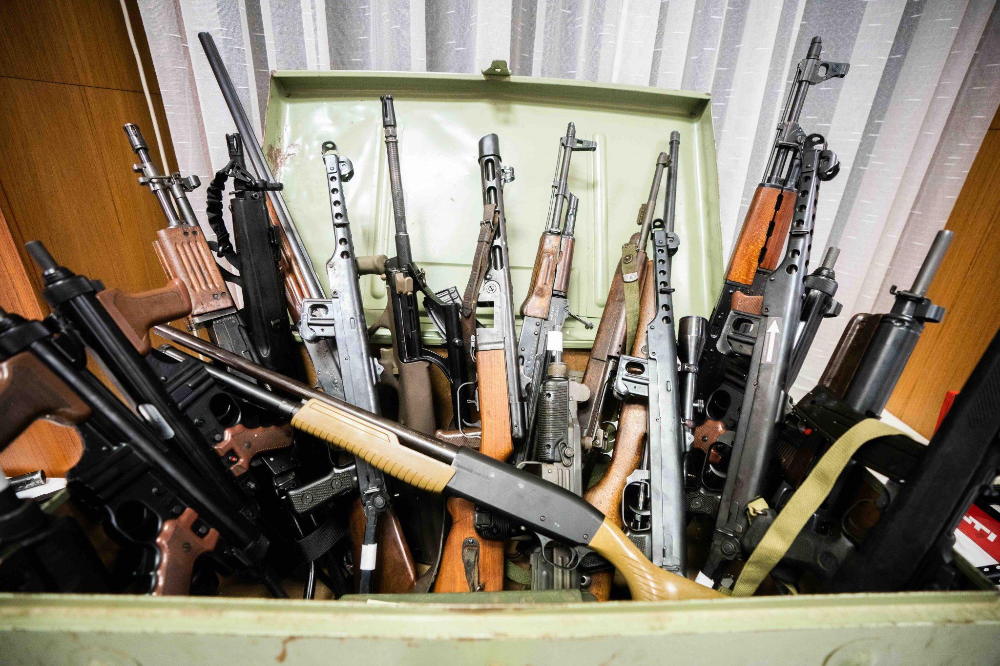 Schußwaffen
