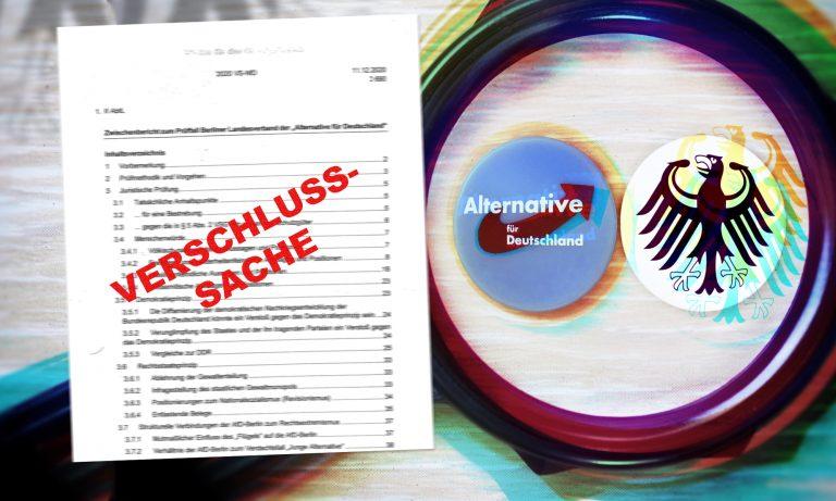 VS-Leak: Geheimgutachten über Berliner AfD