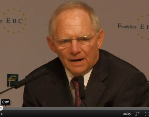 Schäuble: Wir waren nie souverän