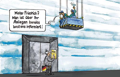 Karikatur der Woche 32/13